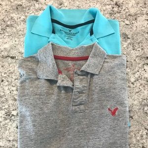2 American Eagle Polo Shirts